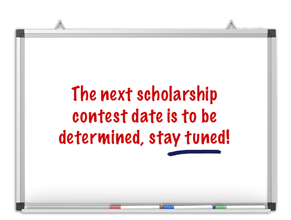 Next scholarship contest date is to be determined